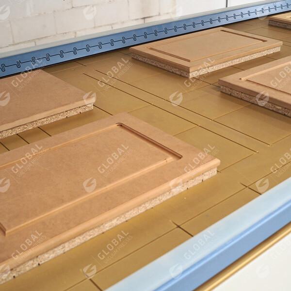 PVC foil lamination frame
