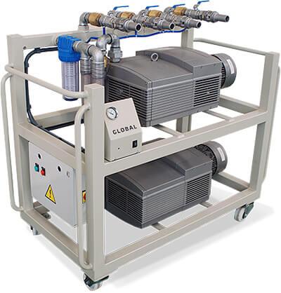 Global Vacuum pump system