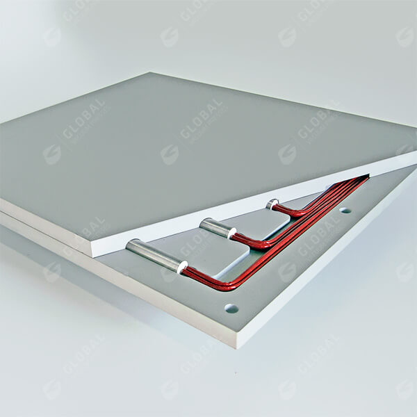 electrical aluminium heating platen