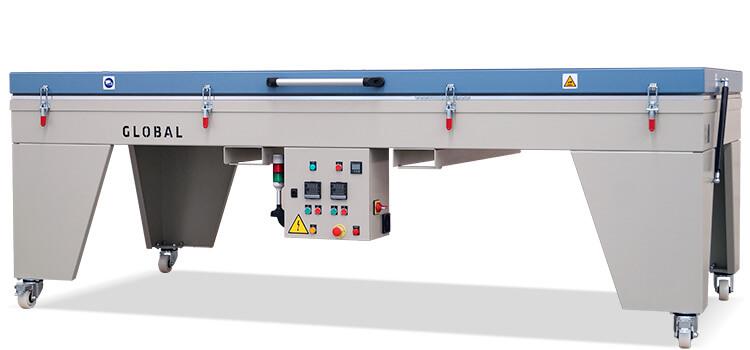 Global platen preheating oven