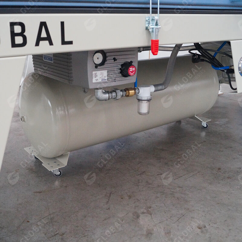 global Vacuum press tank