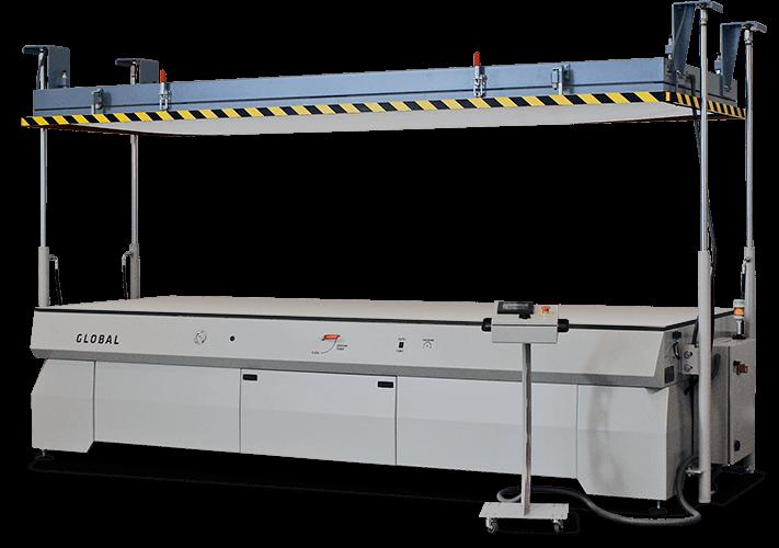 Global Vertical vacuum membrane press