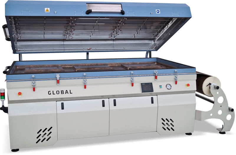Laminating vacuum press thermofoil