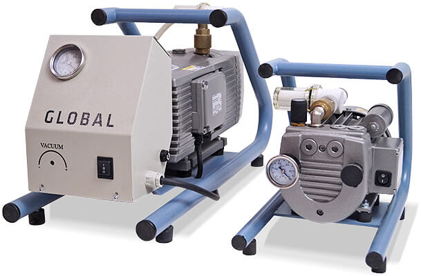 Professional vacuum pumps