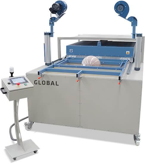 Vacuum forming press plastic