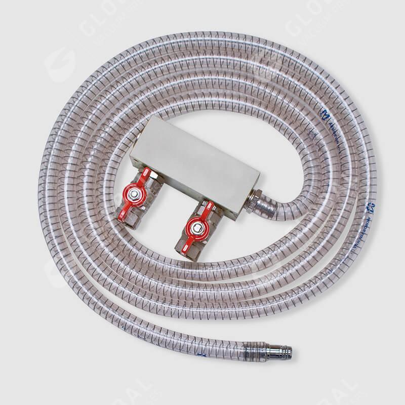 Vacuum port manifold