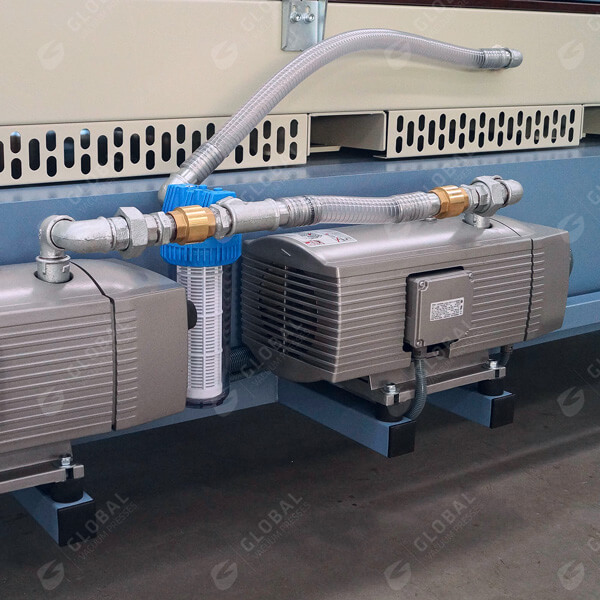 Vacuum press vacuum pump