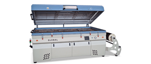 global thermofoil 3D laminating vacuum press