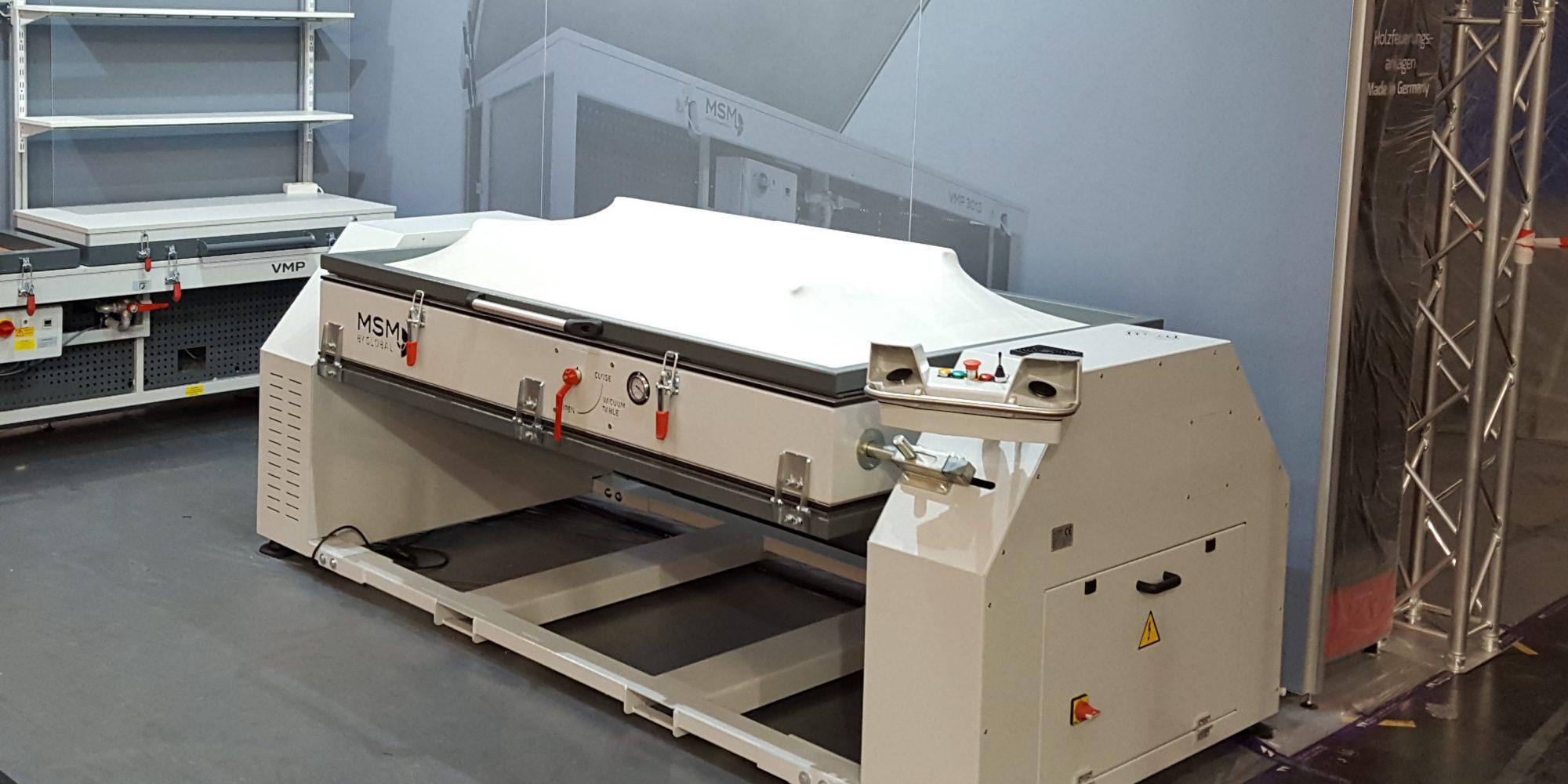 Used vacuum membrane press Turntable
